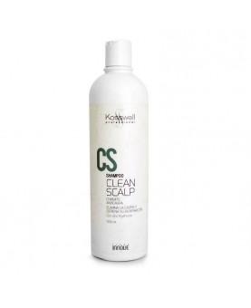 Shampooing cuir chevelu propre