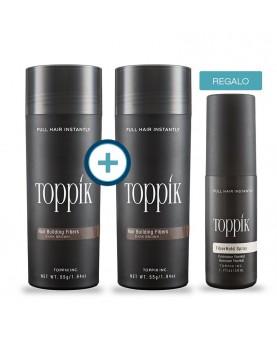Dos Toppik Gigante y un Fiberhold Spray de Regalo