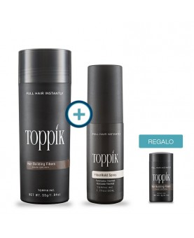 Toppik Giant and Fiberhold Toppik Spray with Mini Gift
