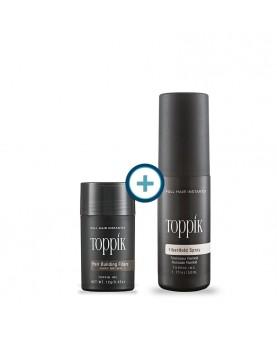 Pack Fibras Toppik 12g + Laca Toppik Fiberhold Spray